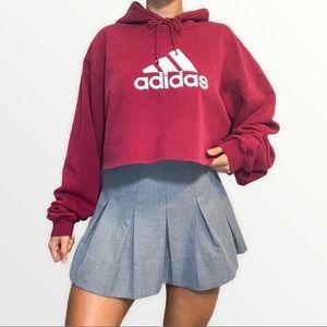 Adidas Crop Hoodie Streetstyle